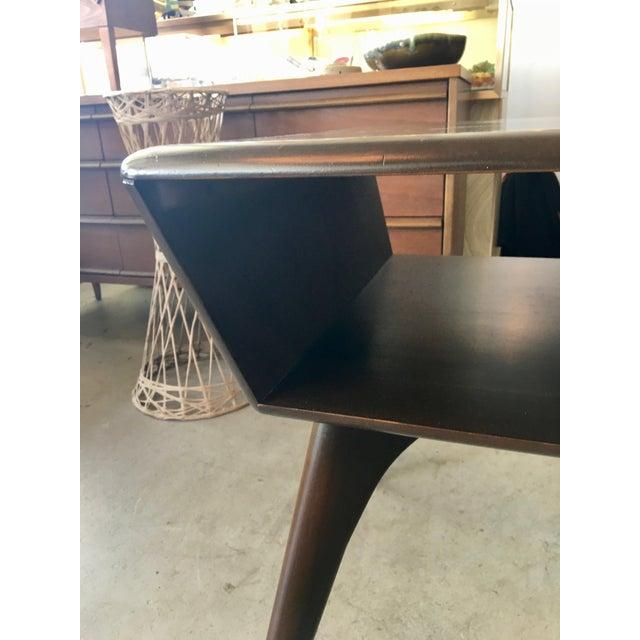 Heywood-Wakefield Heywood Wakefield Side Table For Sale - Image 4 of 13