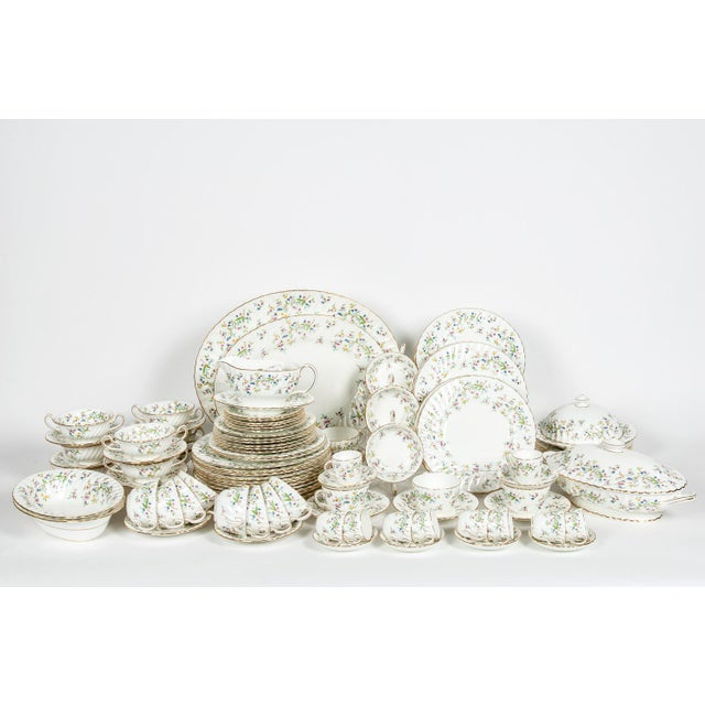 Minton English Full Service Dinnerware for 12 People - 84 Pc. Set For Sale - Image 13 of 13