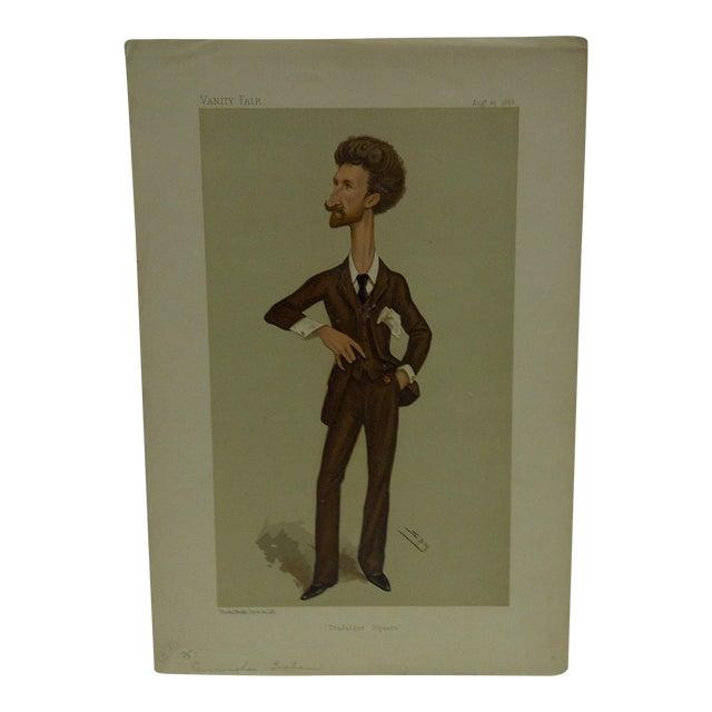 "Vintage Cunningham Graham ""Trafalgar Square"" Vanity Fair Print For Sale"