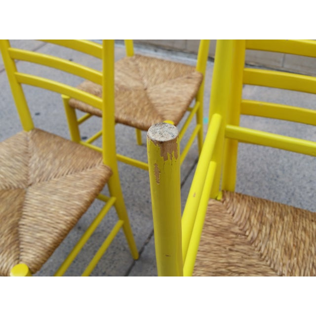 Mid-Century Gio Ponti Style Chairs - Set of 4 - Image 7 of 11