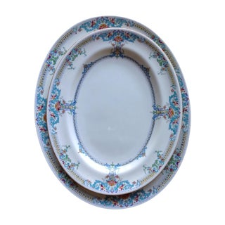 Mid Century Royal Doulton Lombardy Platters - Pair For Sale