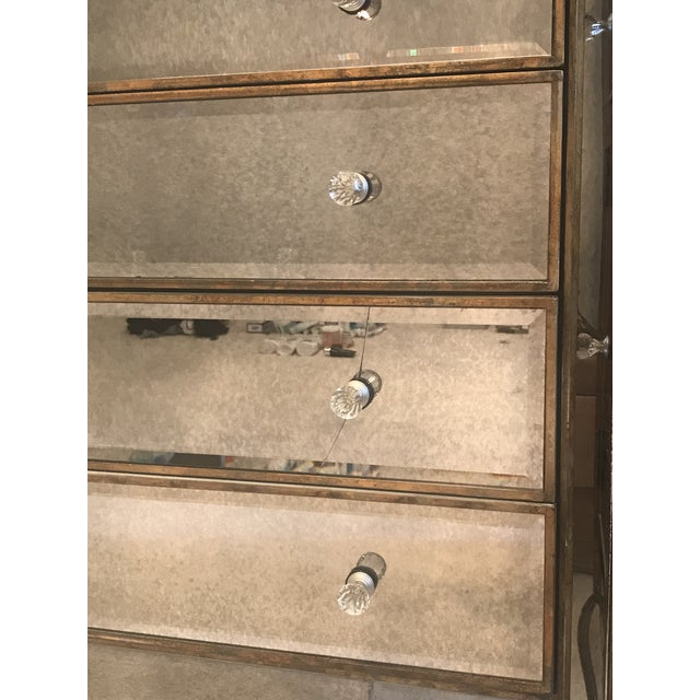 Contemporary Horchow Jerilynn Mirrored Dresser/Buffet For Sale - Image 3 of 4