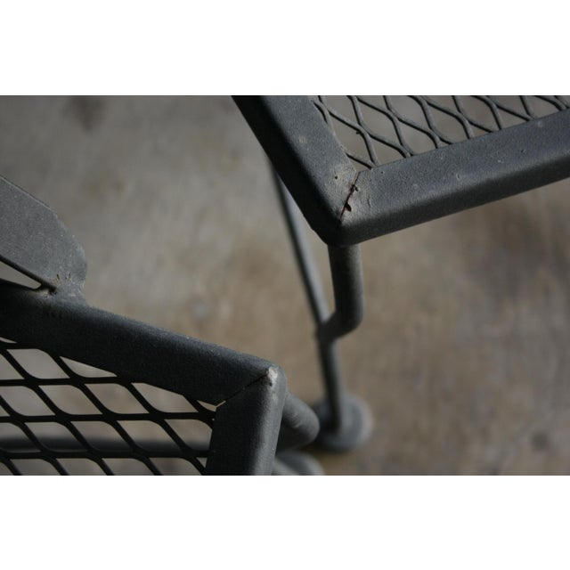 Salterini Salterini Style Patio Chairs, a Pair For Sale - Image 4 of 5