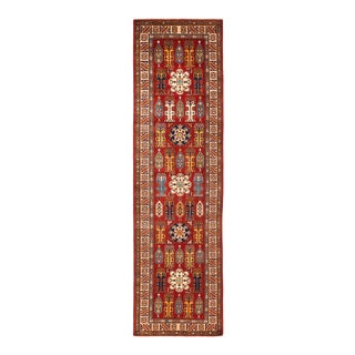 "One-of-a-Kind Traditional Hand-Knotted Runner 2' 8"" x 10' 1"" For Sale"