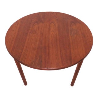 Kofod-Larsen Danish Teak and Padouk Dining Table With Butterfly Leaf For Sale