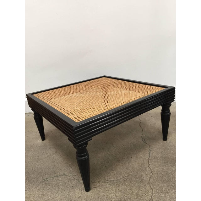 Anglo-Indian Ebonized Ottoman or Side Table For Sale - Image 10 of 13