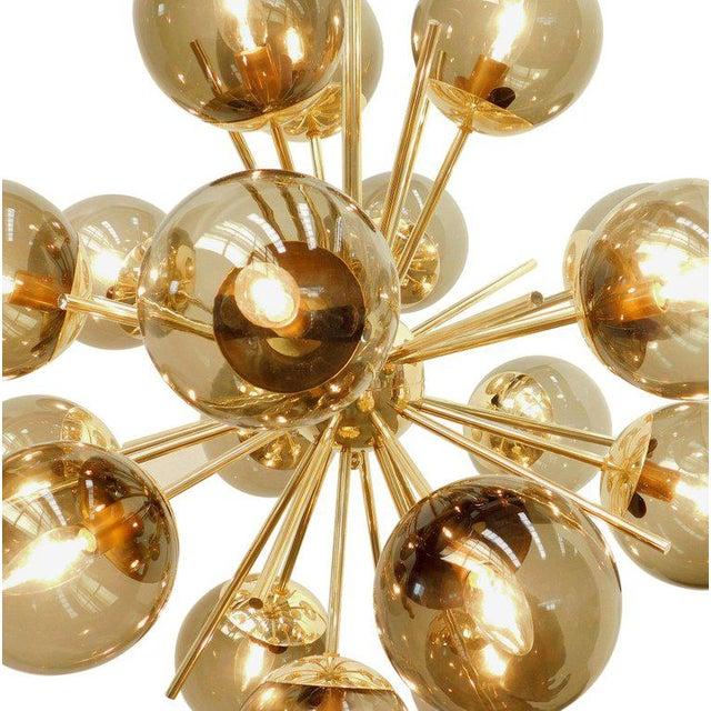 Diciotto Sputnik Chandelier by Fabio Ltd For Sale In Palm Springs - Image 6 of 10