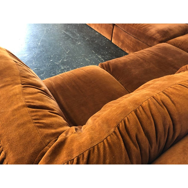 Eight Piece Modular Sofa by Milo Baughman for Thayer Coggin For Sale - Image 11 of 13