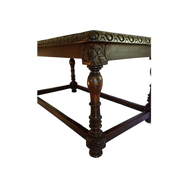 European Scalloped Top Table - Image 3 of 9