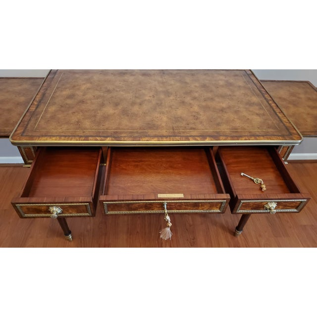 """Theodore Alexander """"Tales From France Writing Desk"""" For Sale - Image 11 of 13"""