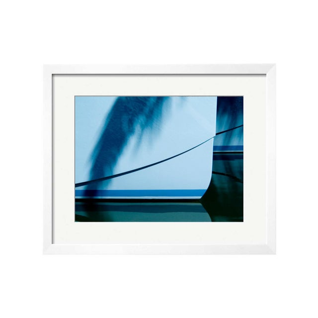 "Geoffrey Baris ""Reflecting Blues"" Framed Print - Image 1 of 2"