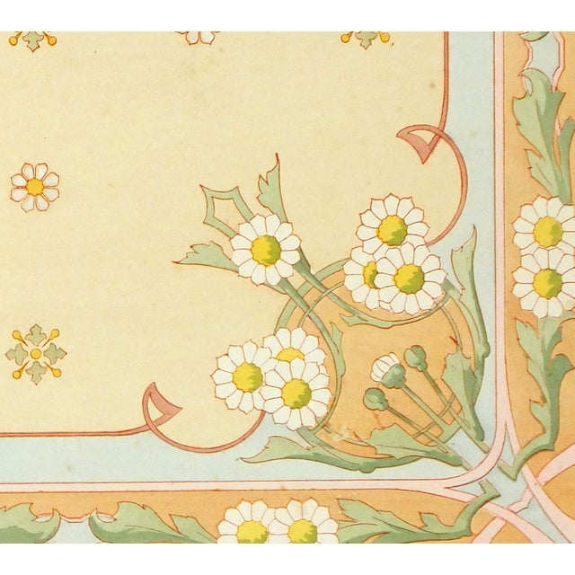 Antique French Interior Decoration Print, C. 1890 - Image 2 of 3
