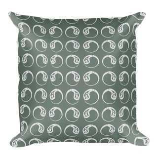 Moon Drop Throw Pillow For Sale