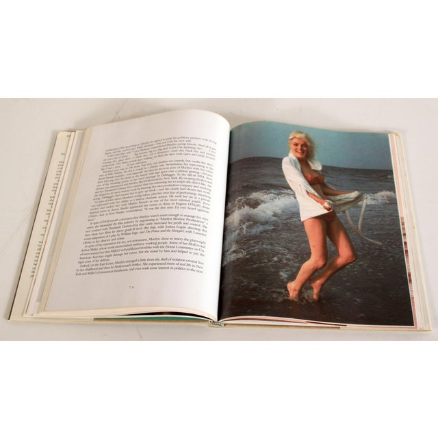 1980s Vintage Marilyn Monroe Hardcover Book by Gloria Steinem For Sale - Image 5 of 9