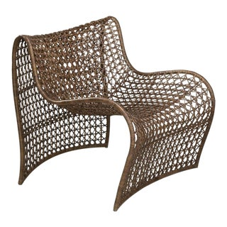 Lola Indoor Chair, Brown For Sale
