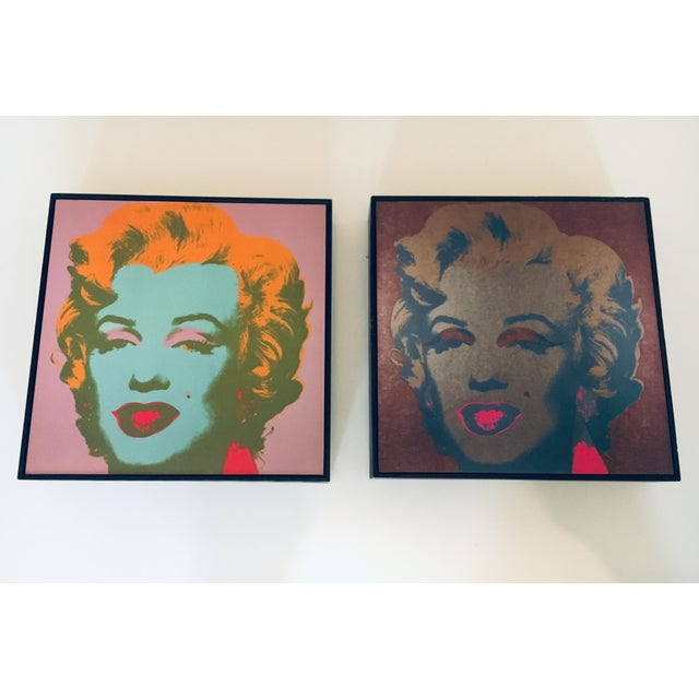 Andy Warhol Andy Warhol Marilyn Monroe 26 1967 Print Framed by the Art Institute of Chicago For Sale - Image 4 of 6
