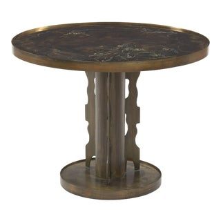 """Philip and Kelvin LaVerne """"Classical"""" Accent Drink Cocktail Table For Sale"""