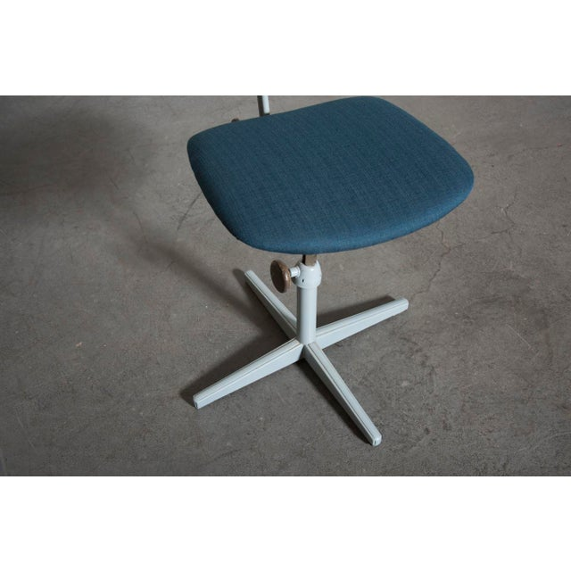 Friso Kramer Newly Upholstered Drafting Chair - Image 10 of 11