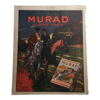 Murad Turkish Cigarettes and Lexington Minute Man