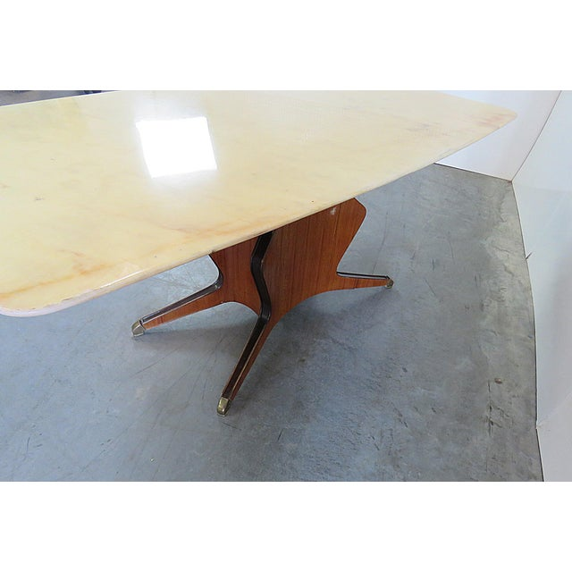 Borsani Marble Top Dining Room Table For Sale - Image 10 of 11