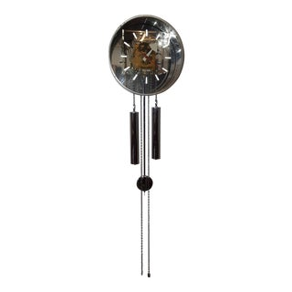Mid Century George Nelson Pendulum Wall Clock For Sale