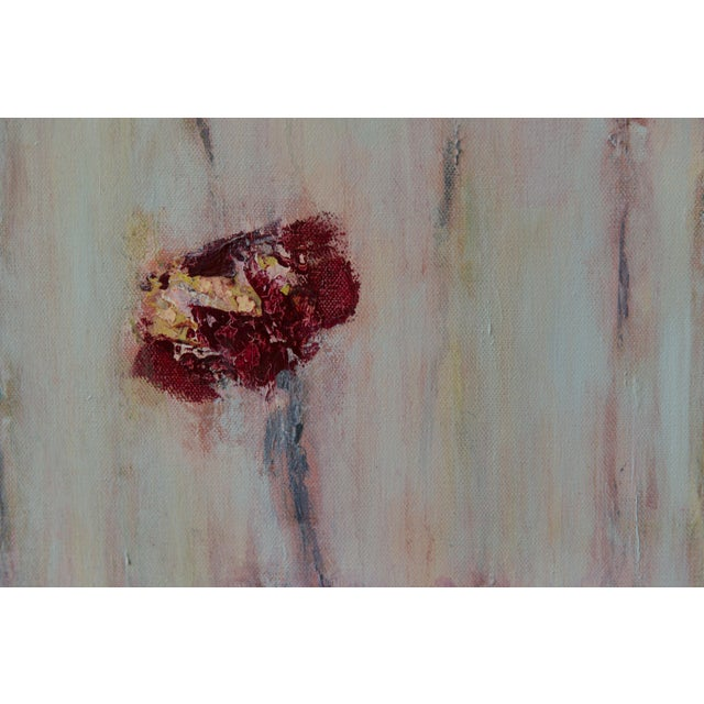 "2020s Bill Tansey ""Field Flowers 2"" Floral Oil on Canvas For Sale - Image 5 of 5"
