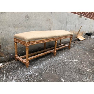 Vintage French Long Bench Preview