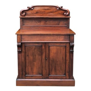 19th Century French Louis Philippe Period Mahogany Buffet For Sale