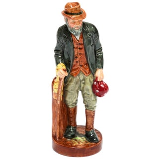 "Royal Doulton ""The Gaffer"" British Porcelain Figurine For Sale"