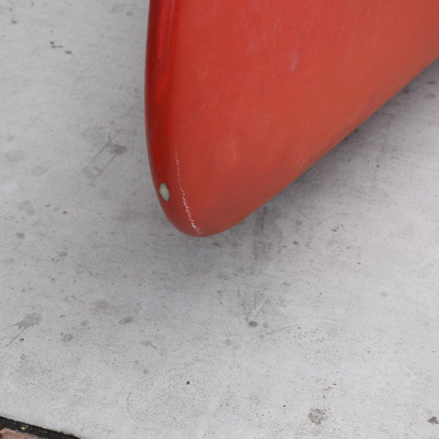 Mid-Century Modern Old Town Red Canoe Kayak For Sale In San Diego - Image 6 of 8