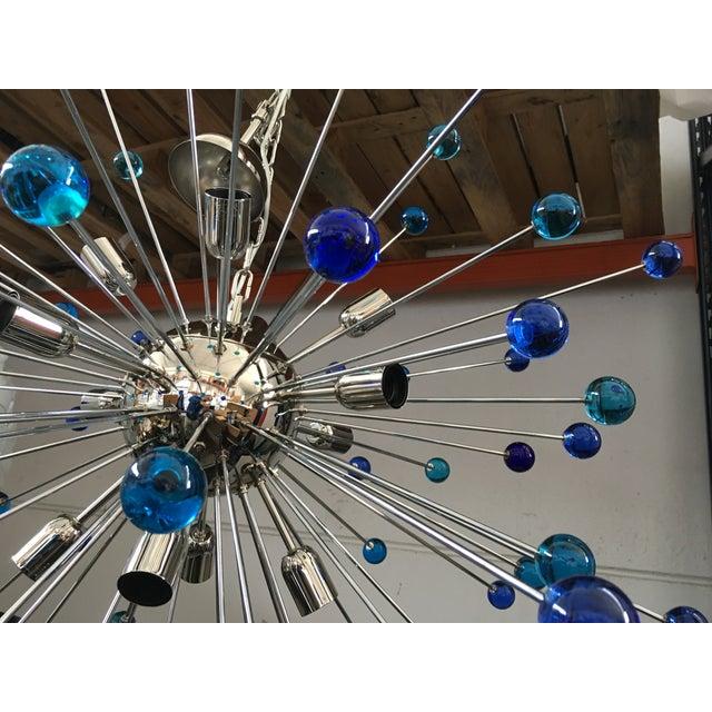 Contemporary Murano Glass Triedo Sputnik Chandelier For Sale - Image 6 of 11