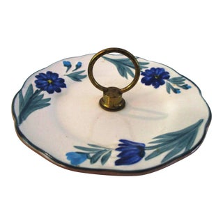 Mid-Century Stangl Pottery Dahlia Tidbit Dish For Sale