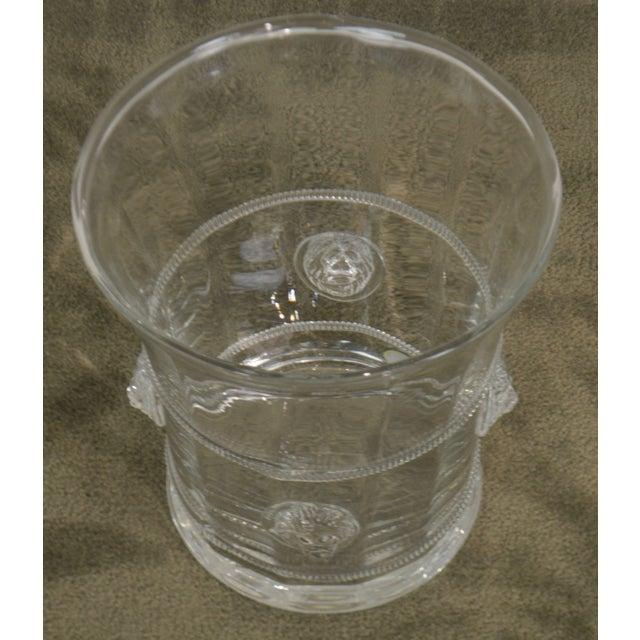 Abigails Czech Republic Lion Head Glass Ice Bucket For Sale In Philadelphia - Image 6 of 13