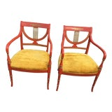 Image of Vintage Whitlock's Furniture Dining / Side Chairs - a Pair For Sale