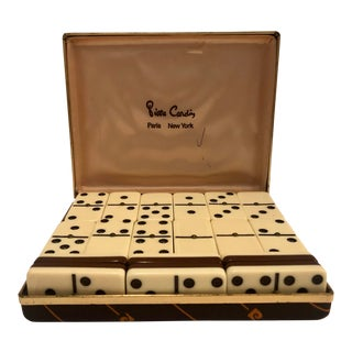 Pierre Cardin Domino Game With Box For Sale