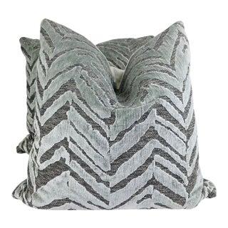 "Mokum ""Borneo"" in Ash 22"" Pillows-A Pair For Sale"