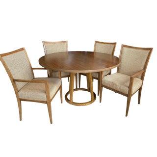 Baker Furniture Danish Modern Dining Set - 5 Pieces For Sale