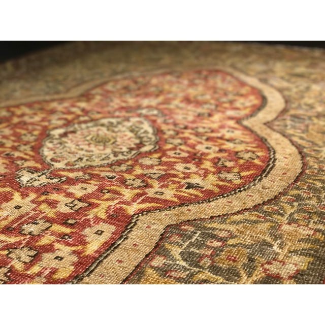 Bellwether Rugs Distressed Look Vintage Turkish Oushak Area - 4'x6' - Image 9 of 11