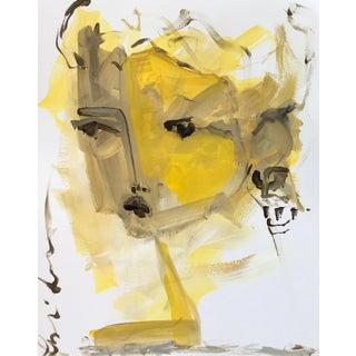 Saffron Face by Leslie Weaver For Sale