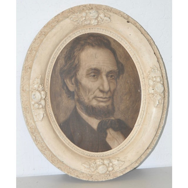 Abraham Lincoln, 19th C. Original Pencil Portrait - Image 2 of 6