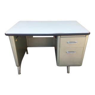 "Vintage All Steel ""Tanker"" Desk"