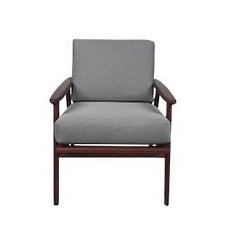 Vintage Danish Teak Arm Chair For Sale