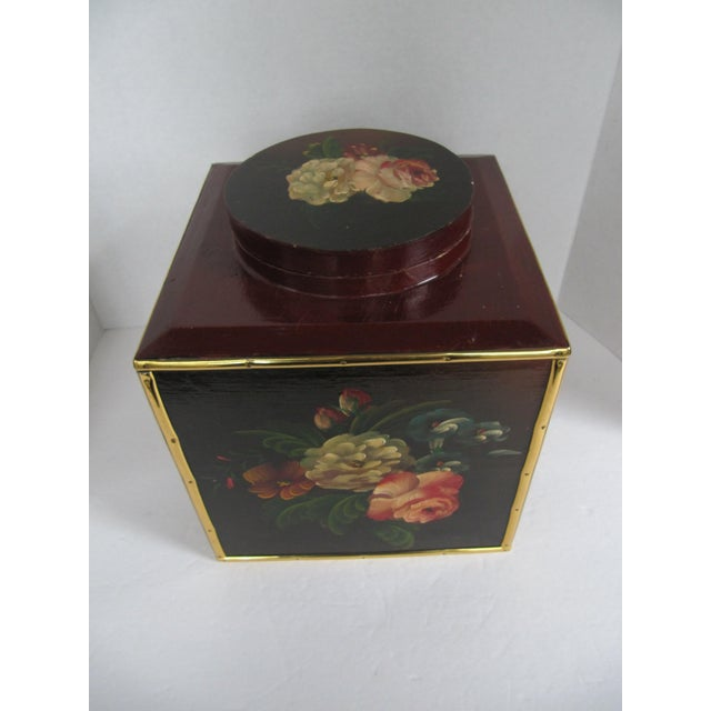 Floral Laquer Box - Image 6 of 7
