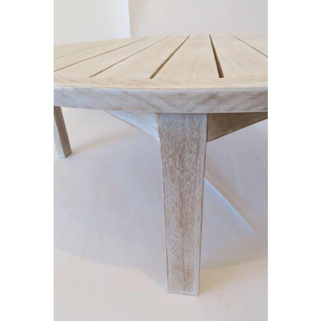 Custom Teak Coffee Table - Image 5 of 5