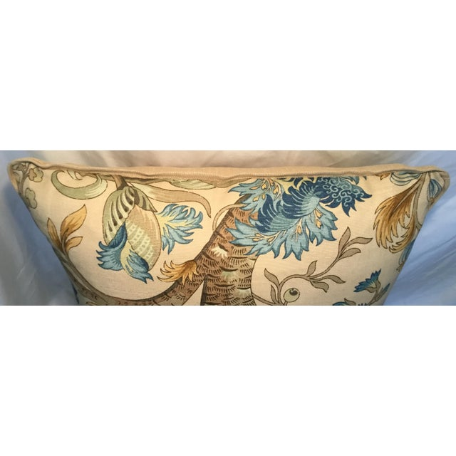 Ralph Lauren Pillow - Tree of Life Design - Pair Available For Sale In Los Angeles - Image 6 of 13
