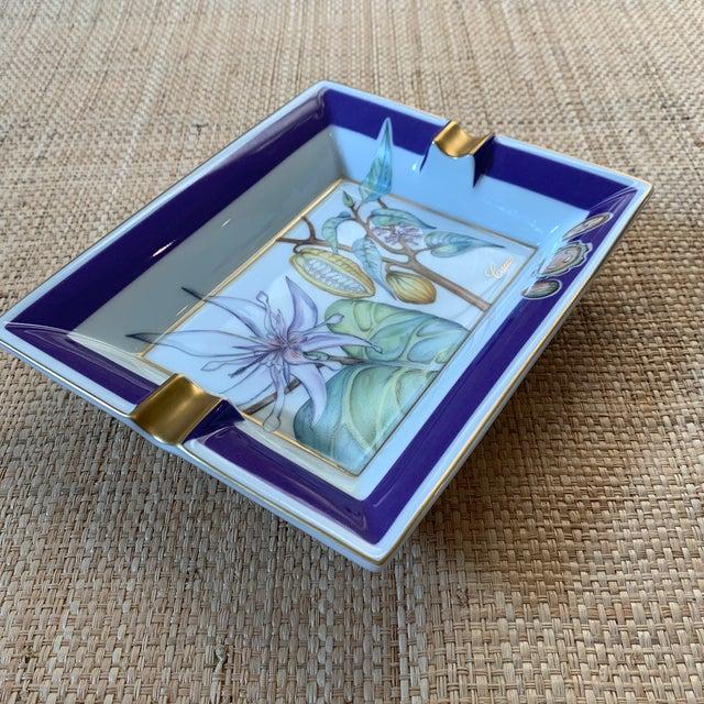 Ceramic Hermes France Cacao Ashtray/Trinket Dish For Sale - Image 7 of 10