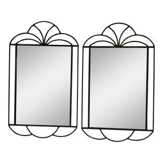 Mid-Century Modern Mirrors - a Pair For Sale