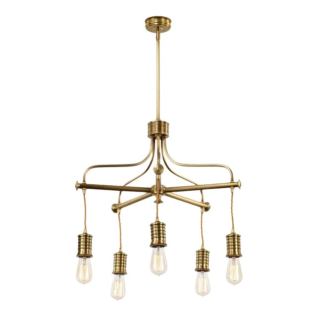 Douille 5-Light Chandelier - Image 1 of 3