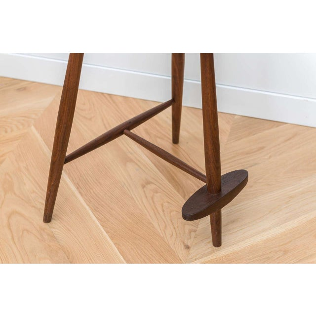 George Nakashima Walnut Mira Stool For Sale In San Francisco - Image 6 of 7