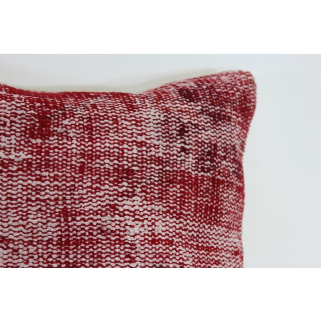 Vintage Red Overdyed Pillow Cover - Image 4 of 7